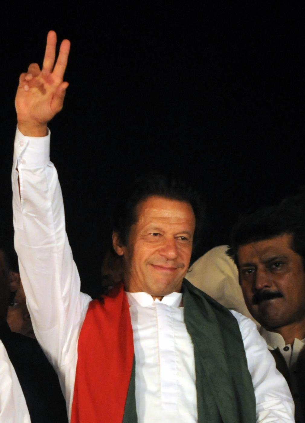 Pakistani opposition leader Imran Khan. (File Photo: IANS) by .