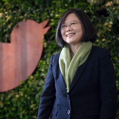 Tsai Ing-wen. (Photo: Twitter/@iingwen) by .