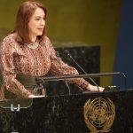 United Nations General Assembly President Maria Fernanda Espinosa. (Photo: UN/IANS) by .