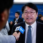 "INCHEON, Oct. 8, 2018 (Xinhua) -- Zhai Panmao, co-chair of Intergovernmental Panel on Climate Change (IPCC) Working Group, receives interview after a press conference of the 48th session of IPCC in South Korea's western port city of Incheon, Oct. 8, 2018. The IPCC, an international body assessing the science related to climate change, on Monday urged ""rapid and far-reaching"" changes in all aspects of the entire world to fight against global warming after adopting a special report on global warming. (Xinhua/Wang Jingqiang/IANS) by ."