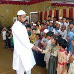 Moulana Gayas Ahmed Rashadi with orphaned children. by .