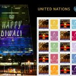 Stamps issued by the United Nations Postal System in celebration of Diwali. (Photo: UNIANS) by .