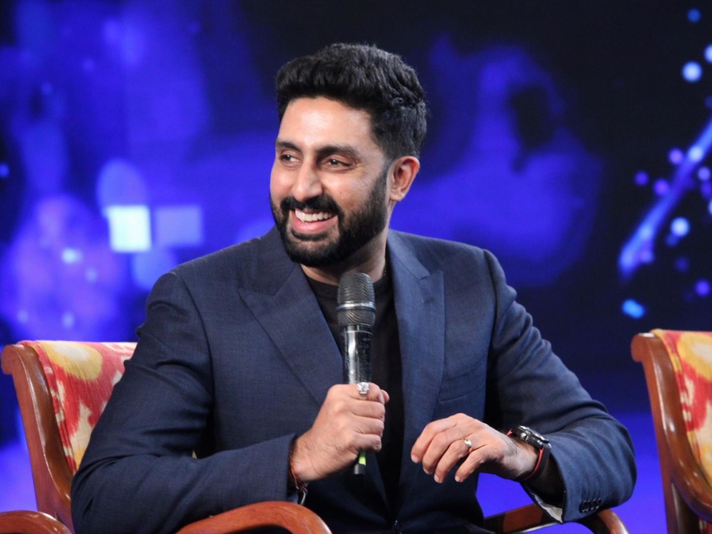 "New Delhi: Actor Abhishek Bachchan at ""NDTV Yuva 2018"", in New Delhi on Sept 16, 2018. (Photo: Amlan Paliwal/IANS) by ."