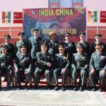 Bum-la: The Indian Army and China's People's Liberation Army (PLA) personnel during a first-ever border personnel meeting (BPM) at the Major General-level between Indian Army and Chinese PLA at Bum-la in Arunachal Pradesh on Nov 9, 2018. (Photo: IANS) by .