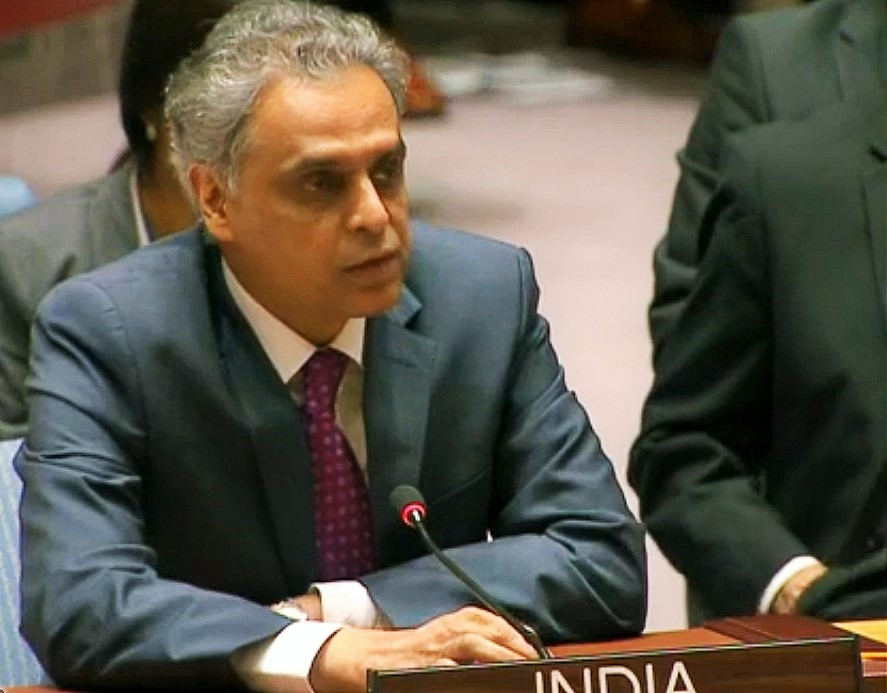 India's Permanent Representative Syed Akbaruddin. (Photo: Indian Mission/IANS) by .