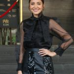 """Mumbai: Actress Anushka Sharma during a press conference organised for the success of her film """"Sui Dhaaga - Made in India"""" in Mumbai on Oct 5, 2018. (Photo: IANS) by ."""