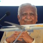 Mumbai: Mumbai: Jet Airways Chairman Naresh Goyal during the signing of Memorandum of Understanding (MoU) between Jet Airways and Air France–KLM in Mumbai on Nov 29, 2017.(Photo: IANS) by .