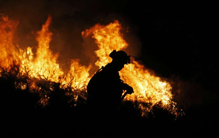 U.S.-CALIFORNIA-WILDFIRE by .