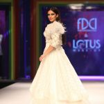 New Delhi: Actress Huma Qureshi walks the ramp during the 'Rainbow Show' at Grand Finale of Lotus Make-up India Fashion Week, in New Delhi on Oct 13, 2018. (Photo: Amlan Paliwal/IANS) by .