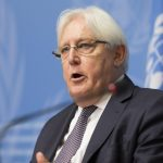 GENEVA, Sept. 5, 2018 (Xinhua) -- UN Special Envoy of the Secretary-General for Yemen Martin Griffiths addresses the media in Geneva, Switzerland, Sept. 5, 2018. Martin Griffiths on Wednesday announced here that warring parties in Yemen are scheduled to participate a new round of peace talks in Geneva to end the four-year conflict engulfing the country. (Xinhua/Xu Jinquan/IANS) by .