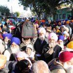 Amritsar: Sikh pilgrims arrive at Attari railway station as they prepare to leave for Pakistan to participate in the birth anniversary celebrations of 1st Sikh Guru, Guru Nanak Dev to be held at Gurdwara Nankana Sahib, on Nov 21, 2018. (Photo: IANS) by .