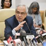 New Delhi: NITI Aayog Vice-Chairman Rajiv Kumar addresses a press conference at the release of NITI Aayog's 'Strategy for New India @75', in New Delhi on Dec 19, 2018. (Photo: IANS/PIB) by .