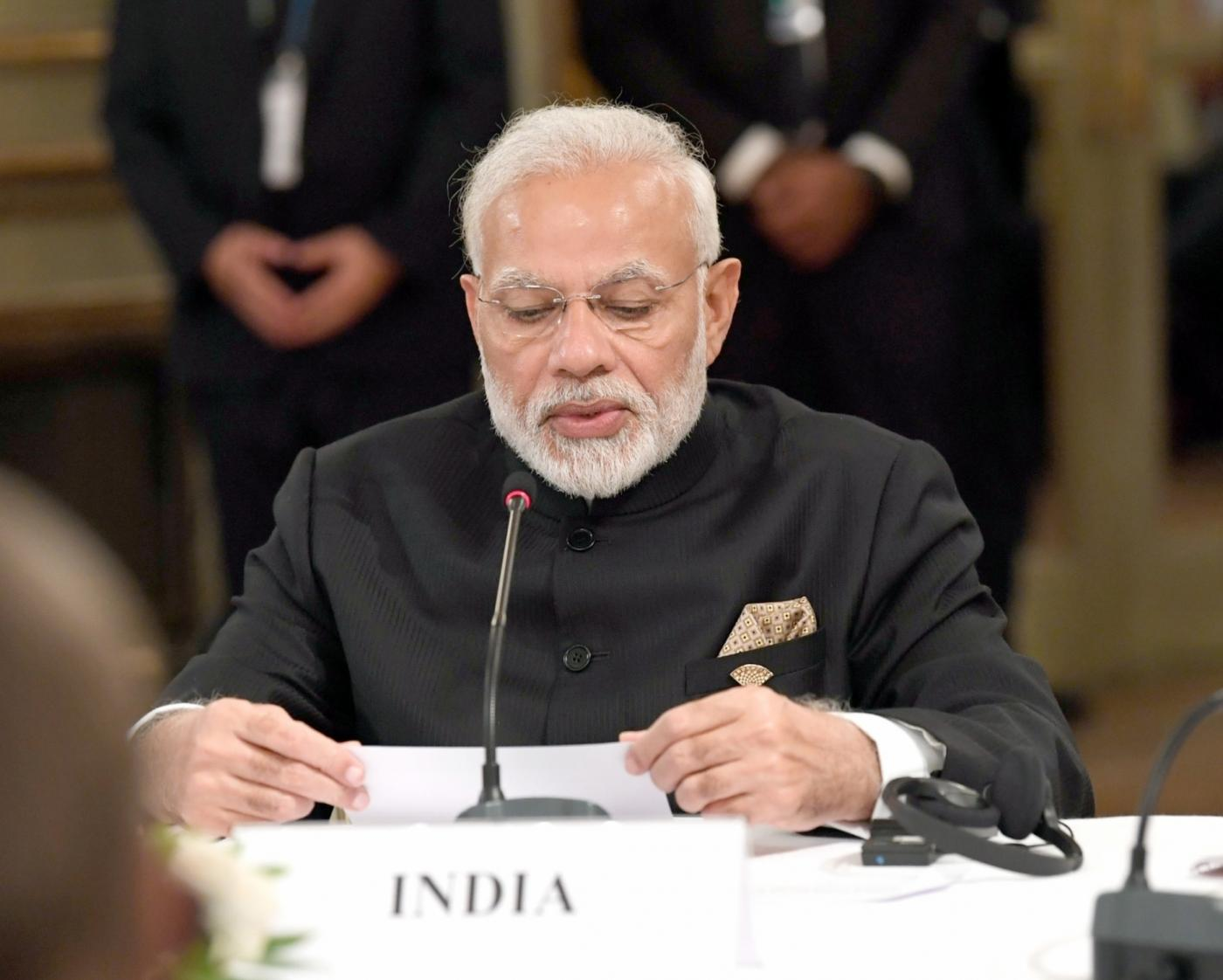 Buenos Aires: Prime Minister Narendra Modi at the RIC (Russia, India, China) Informal Summit, in Buenos Aires, Argentina on Nov 30, 2018. (Photo: IANS/PIB) by .