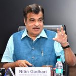 New Delhi: Union Minister for Road Transport and Highways, Shipping and Water Resources, River Development & Ganga Rejuvenation Nitin Gadkari addresses at the release of the Ease of Moving Index-India Report, 2018, in New Delhi on Nov. 1, 2018. (Photo: IANS/PIB) by .