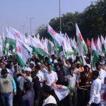 New Delhi: Farmers participate in Kisan Mukti March in New Delhi on Nov 30, 2018. (Photo: IANS) by .