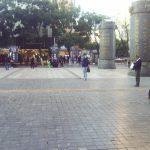 Nanpin Pedestrian Street in downtown Kunming. by .