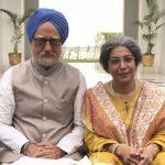 Actors Divya Seth Shah and Anupam Kher. (Photo: Twitter/@AnupamPKher) by .