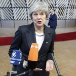 BRUSSELS, Dec. 13, 2018 (Xinhua) -- British Prime Minister Theresa May speaks to media upon her arrival at a two-day EU Summit in Brussels, Belgium, Dec. 13, 2018. (Xinhua/Ye Pingfan/IANS) by .