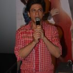 """Mumbai: Actor Shah Rukh Khan at the launch of the trailer of his upcoming film """"Zero"""" in Mumbai on Nov 2, 2018. (Photo: IANS) by ."""