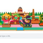 Google's colourful doodle celebrates India's 70th Republic Day. by .