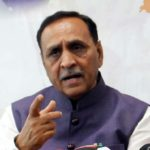Gujartat BJP chief Vijay Rupani. (File Photo: IANS) by .
