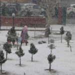 Srinagar receives fresh snowfall on Jan 4, 2018. (Photo: IANS) by .