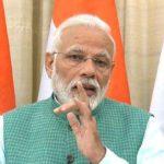 New Delhi: Prime Minister Narendra Modi gives his remarks on the interim budget 2019, in New Delhi on Feb 1, 2019. (Photo: IANS/BJP) by .