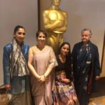 "Los Angeles: Indian film producer Guneet Monga, whose ""Period. End of Sentence"" won Oscar in Documentary Short Subject category, during the 91st Academy Awards at the Dolby Theater in Los Angeles, the United States, on Feb. 24, 2019. (Photo: IANS) by ."
