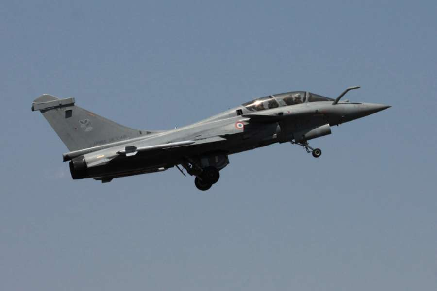 Rafale fighter aircraft. (File Photo: IANS) by .