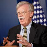 WASHINGTON, Oct. 4, 2018 (Xinhua) -- U.S. National Security Adviser John Bolton speaks at a White House press briefing in Washington D.C., the United States, Oct. 3, 2018. U.S. National Security Adviser John Bolton said here on Wednesday that the United States is withdrawing from the Optional Protocol to the Vienna Convention on dispute resolution. (Xinhua/Ting Shen/IANS) by .