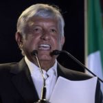MEXICO CITY, June 28, 2018 (Xinhua) -- Mexico's presidential candidate Andres Manuel Lopez Obrador delivers a speech during the closing rally of his electoral campaign in Mexico City, capital of Mexico, on June 27, 2018. Some 89 million eligible voters will choose a successor to President Enrique Pena Nieto on July 1. (Xinhua/Alejandro Ayala/IANS) by .