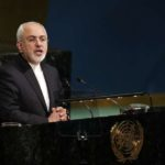 UNITED NATIONS, April 24, 2018 (Xinhua) -- Iranian Foreign Minister Mohammad Javad Zarif addresses the High-Level Meeting on Peacebuilding and Sustaining Peace at the UN headquarters in New York, April 24, 2018. UN General Assembly's High-Level Meeting on Peacebuilding and Sustaining Peace kicked here on Tuesday and is to run through Wednesday. (Xinhua/Li Muzi/IANS) by .