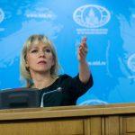 Russian Foreign Ministry's spokeswoman Maria Zakharova. (File Photo: Xinhua/IANS) by .