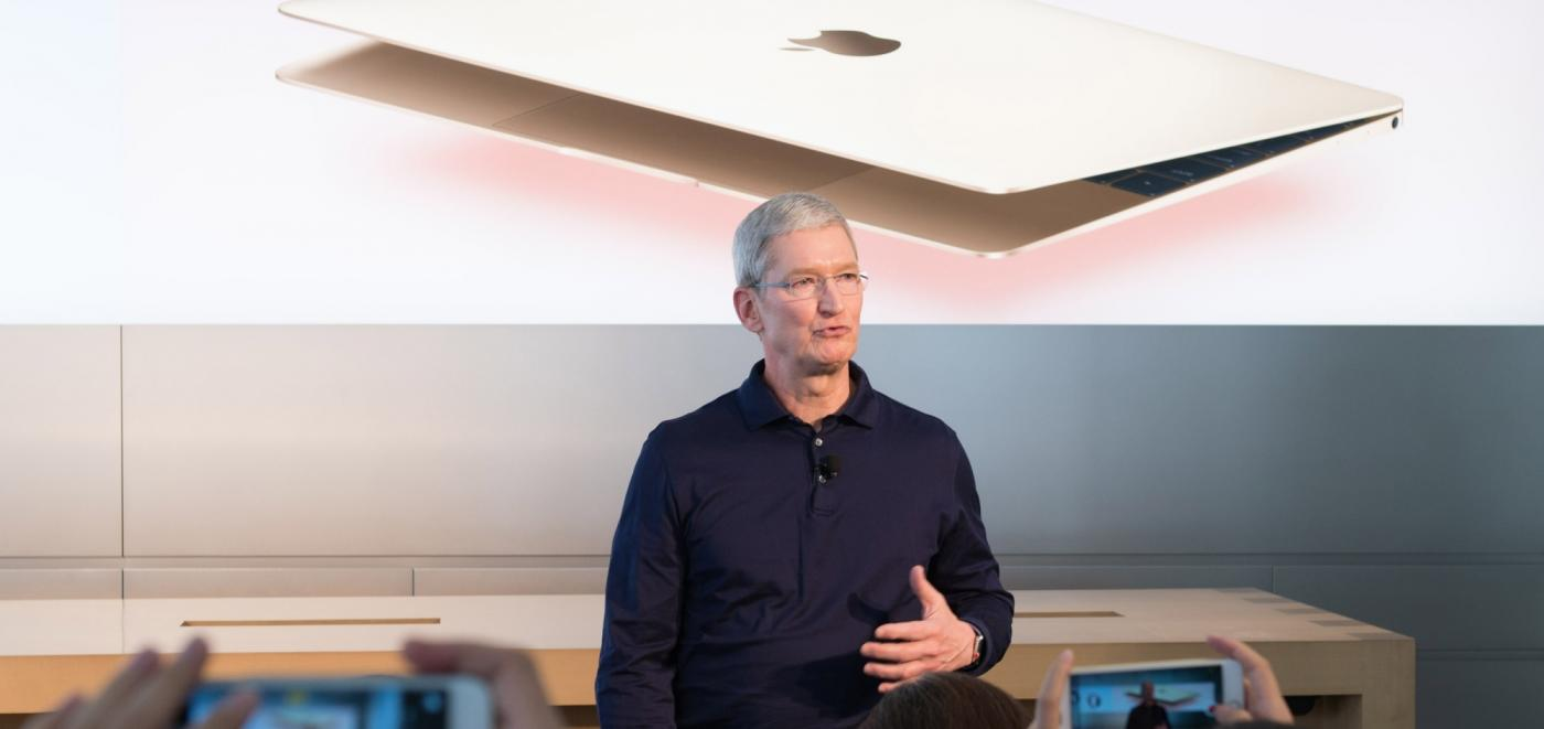 Apple CEO Tim Cook. (File Photo: IANS) by .