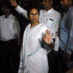 "Kolkata: West Bengal Chief Minister Mamata Banerjee visits SSKM hospital to inspect the health of Matua community matriarch Binapani Devi popularly known as ""Boroma"" in Kolkata on March 5, 2019. (Photo: IANS) by ."