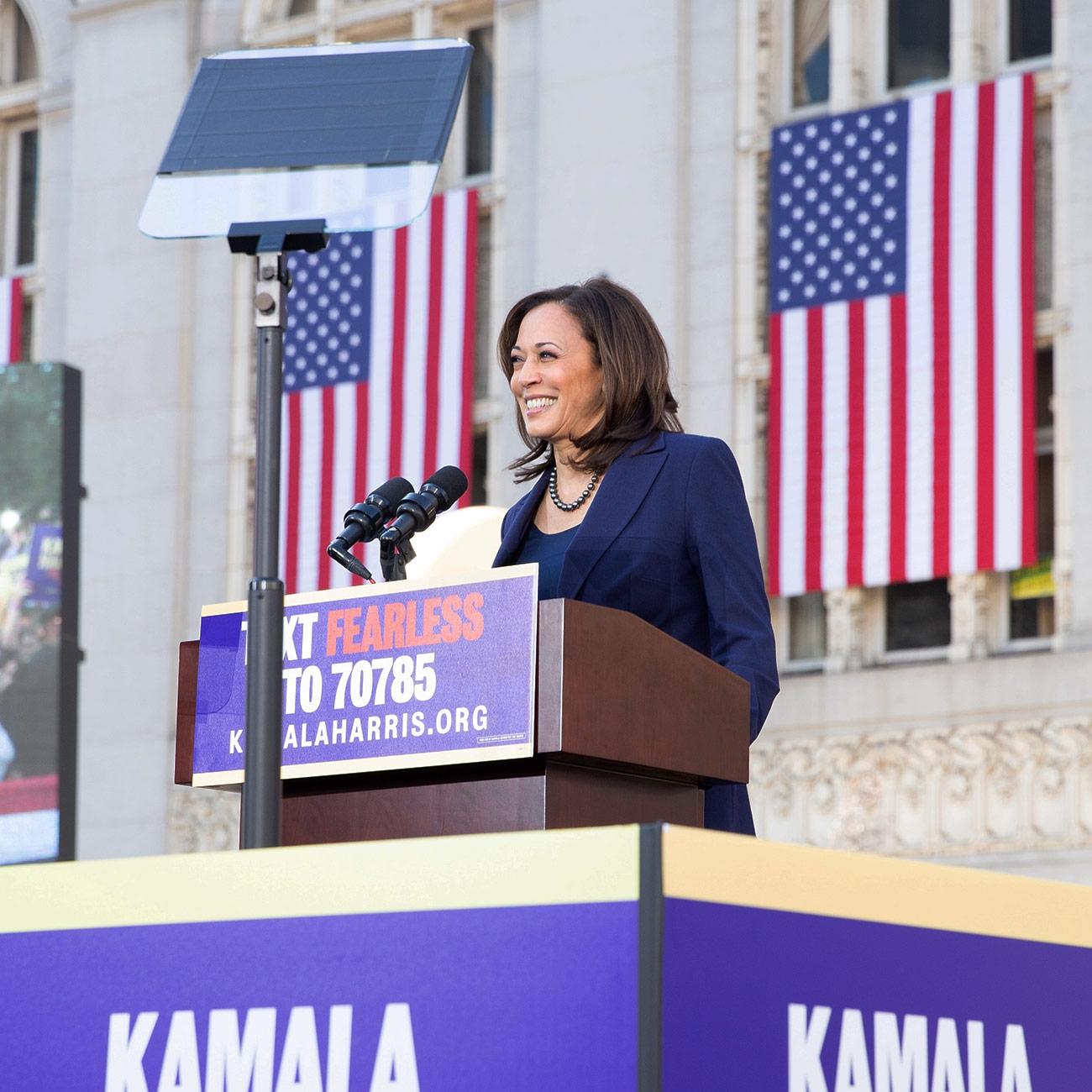 Kamala Harris (Campaign photo) by .