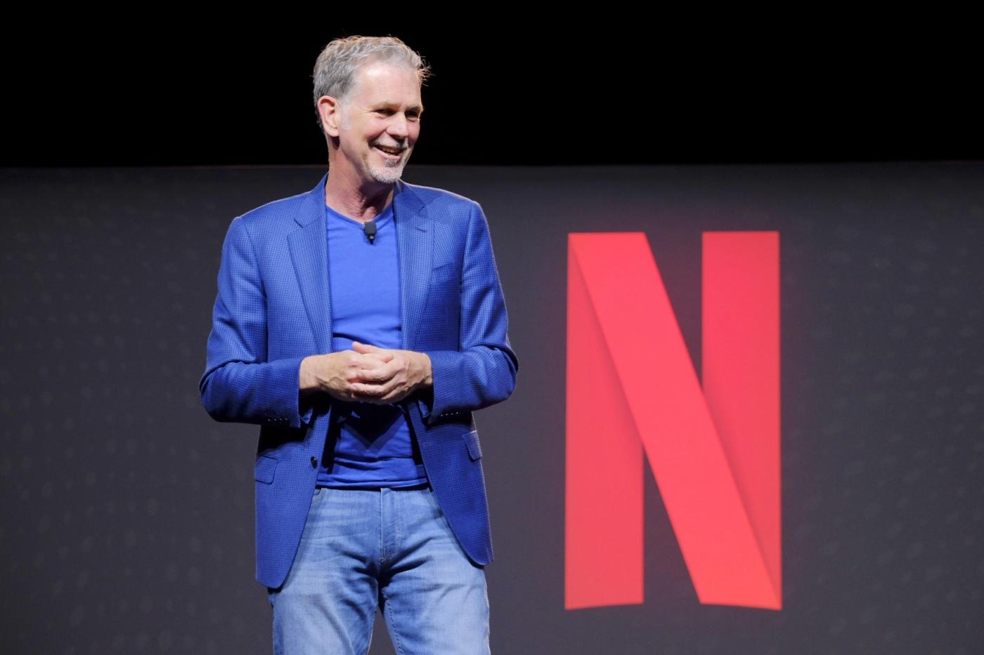 Netflix CEO Reed Hastings, by .