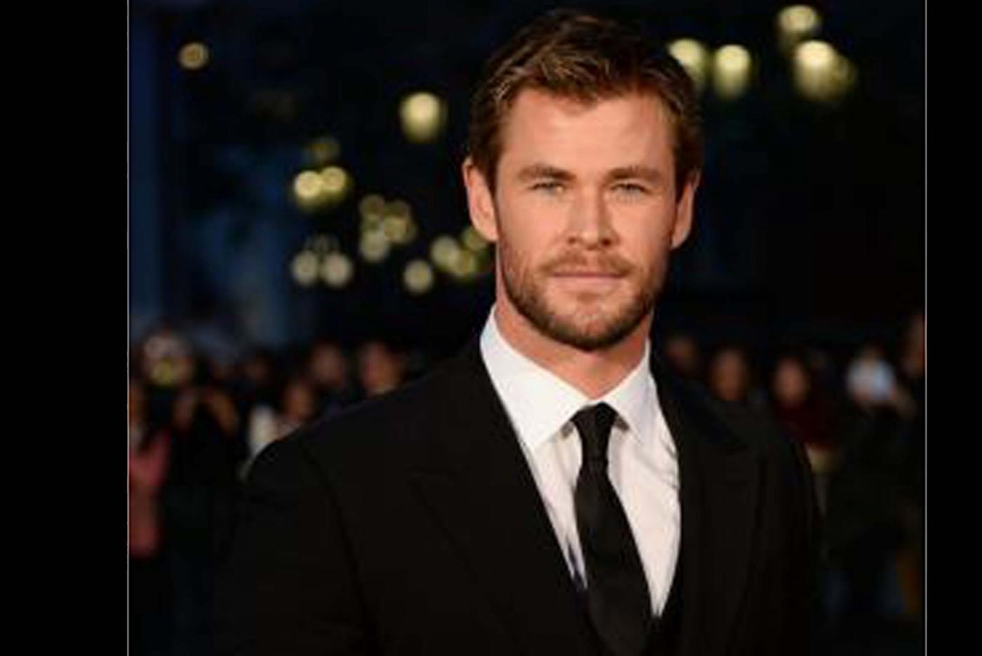 Actor Chris Hemsworth by .