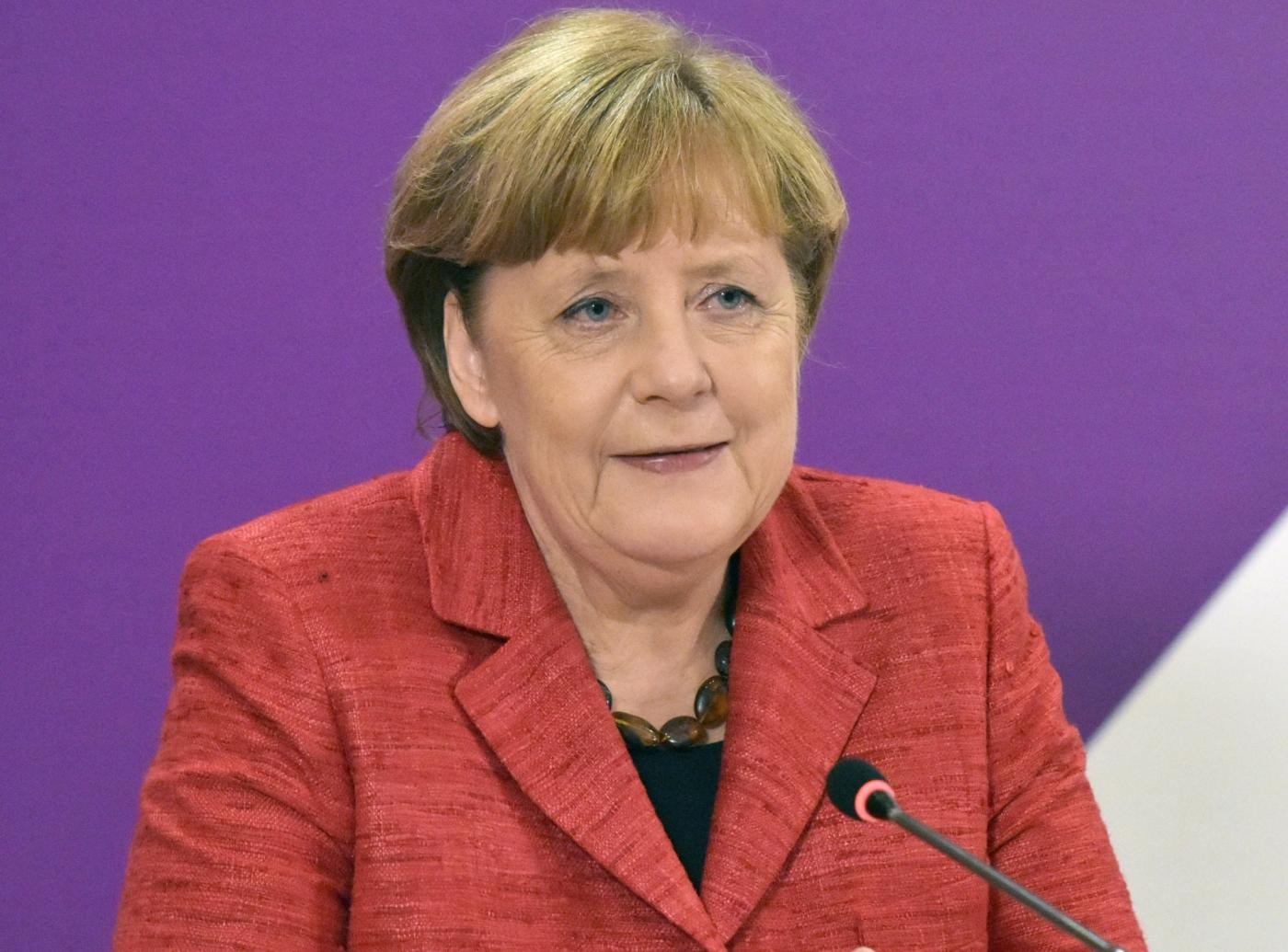 Germany Chancellor Angela Merkel. (File Photo: IANS) by .