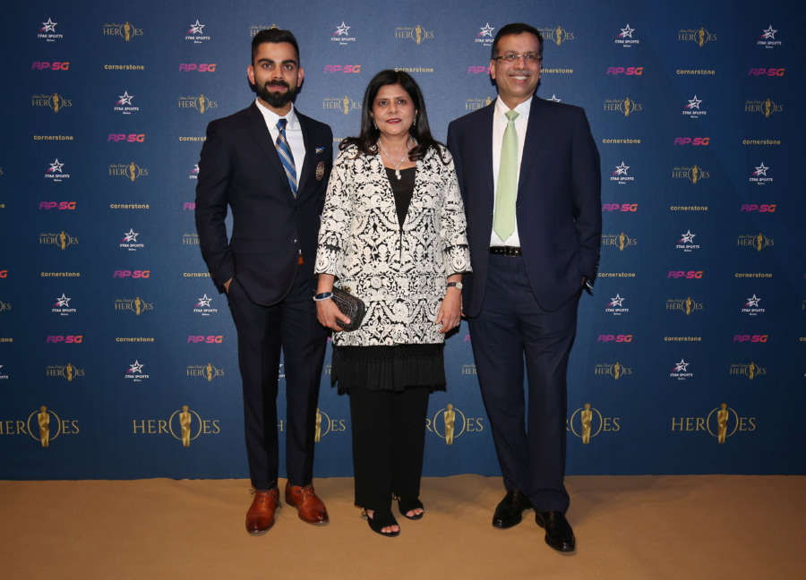 Indian Cricket Heroes Event by Alex Morton.