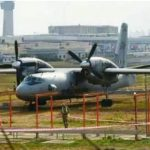 Mumbai: An IAF aircraft overshot the main runway at the Mumbai international airport, hitting flight operations for some time, on May 8, 2019. The incident occurred around 11.39 p.m. on Tuesday when the IAF plane, an Antonov AN-32, a military transport aircraft, was preparing to take off from the main runway at the Chhatrapati Shivaji Maharaj International Airport. (Photo: IANS) by .