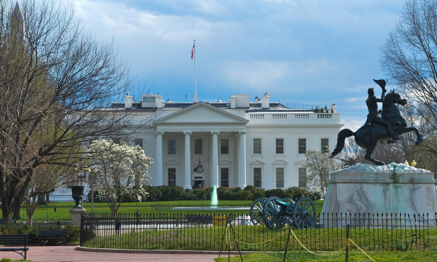 Washington D.C. White House. (File Photo: IANS) by .