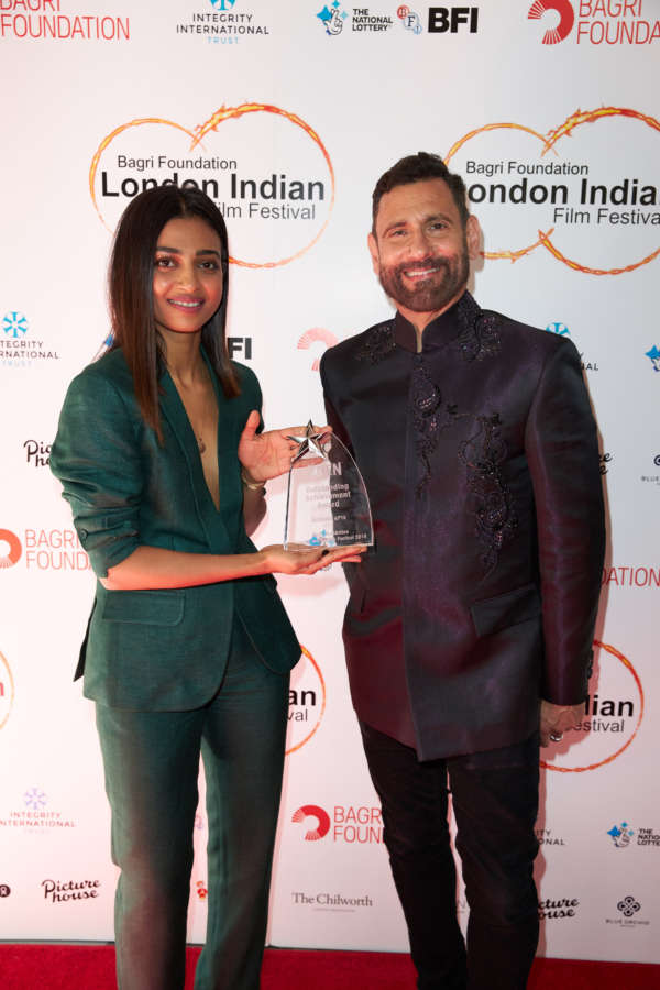 Opening Night red carpet of the Bagri Foundation London Indian Film Festival 2019 by Array.