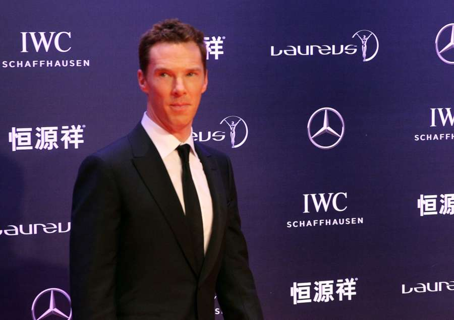 British actor Benedict Cumberbatch. (File Photo: Xinhua/Chen Fei/IANS) by .
