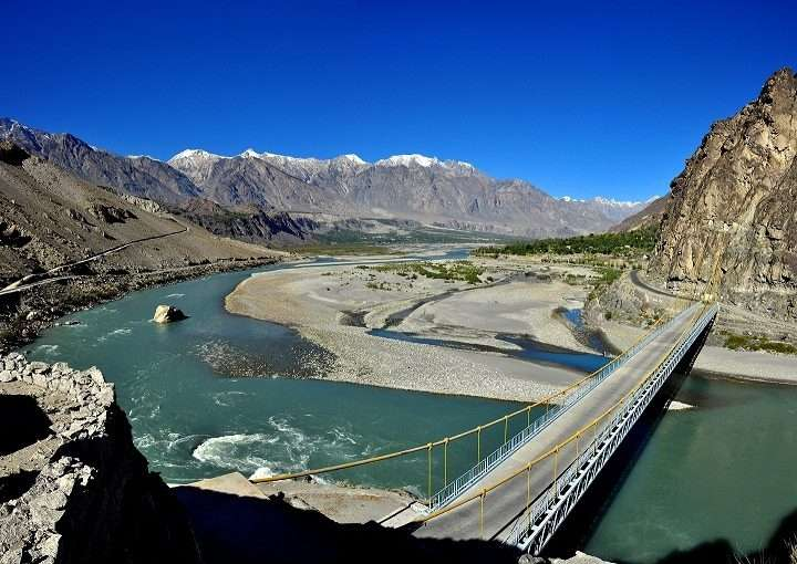 Ghizer Valley. by .