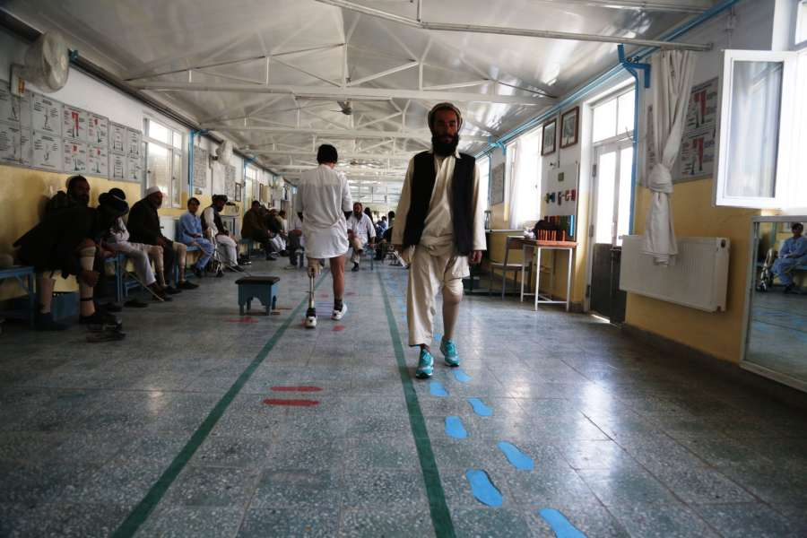 (WORLD SECTION) AFGHANISTAN-KABUL-ICRC-WAR VICTIMS by .