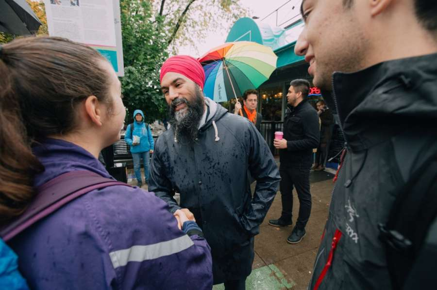 New Democratic Party (NPD) leader Jagmeet Singh, a contender in Monday's Canadian general elections and also the first turban-wearing Sikh to sit as a provincial legislator in Ontario, has reached out to young voters in the country via TikTok, the video sharing app. Singh has made it a priority to try to connect with young voters through his campaign, using tools and strategies other political leaders either cannot or have chosen not to try, CBC News reported on Sunday. by .