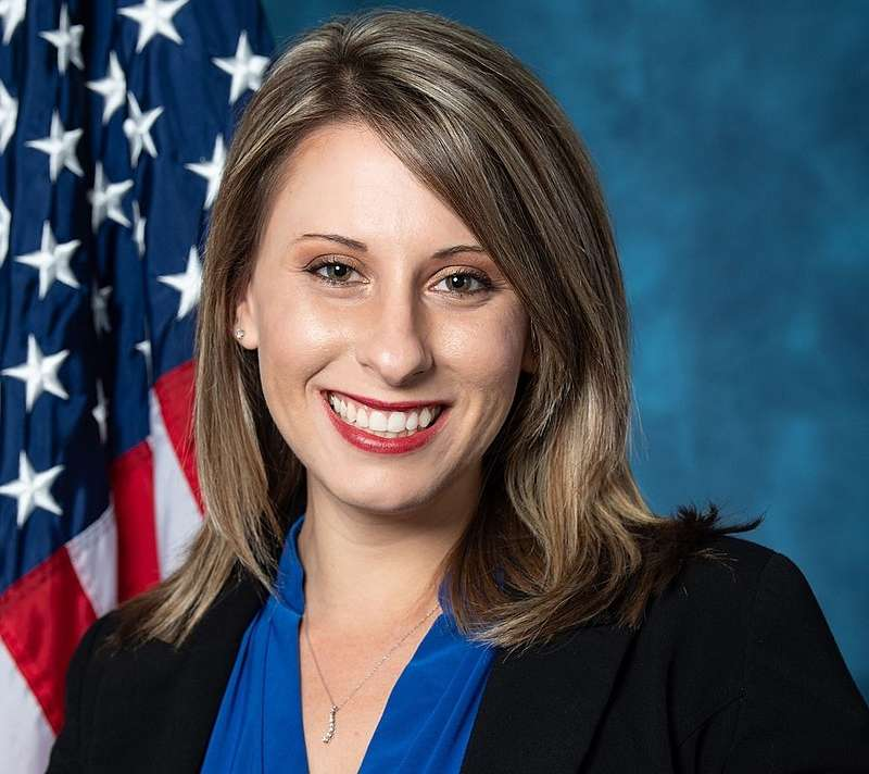 Katie Hill. by .