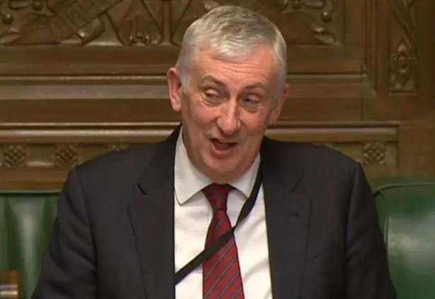 Labour MP Lindsay Hoyle by .