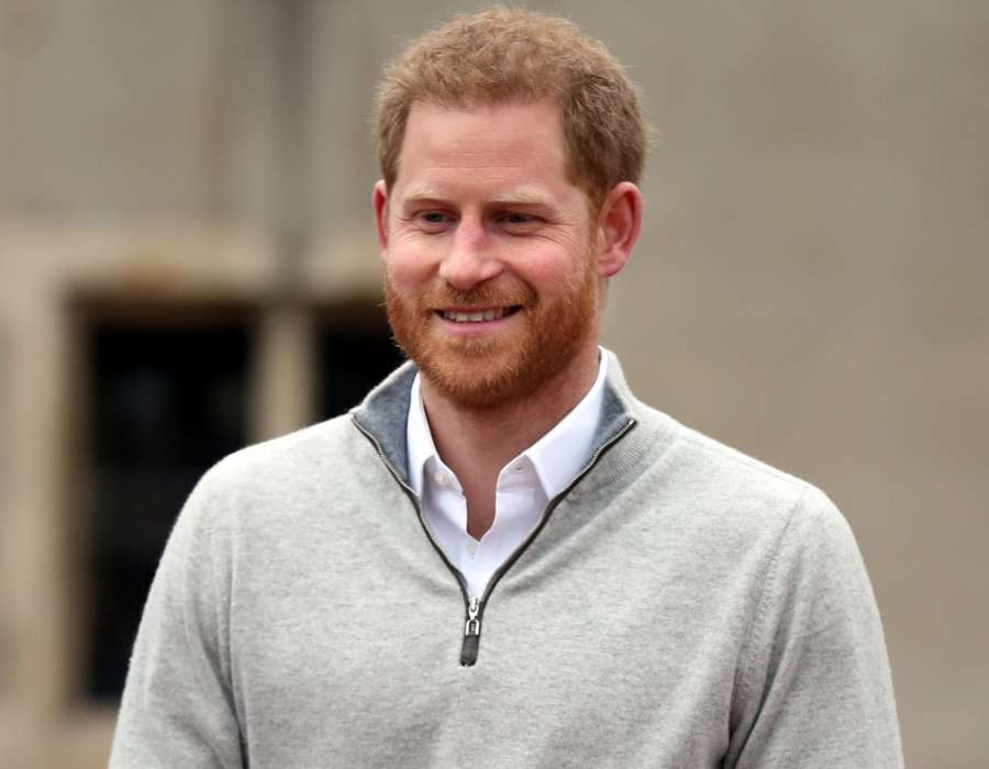 WINDSOR (BRITAIN), May 6, 2019 (Xinhua) -- Britain's Prince Harry speaks to the media at Windsor Castle, Britain, on May 6, 2019. Meghan Markle, Duchess of Sussex, has given birth to a boy, the Duke of Sussex announced here on Monday. (Xinhua/Pool/IANS) by .